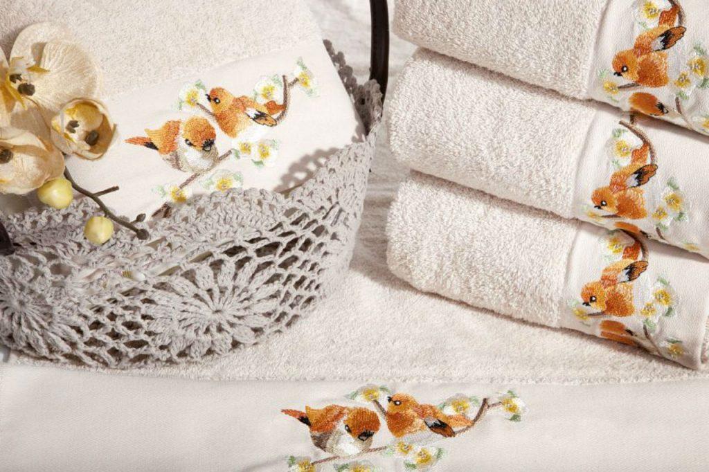 Ręczniki w aranżacji łazienki