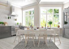 Drewno w kuchni i łazience – czy to dobry pomysł?