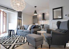 Jak dobrać kolory ścian, podłogi i oświetlenie w nowoczesnym stylu nadmorskim